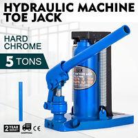 Hydraulic Machine Toe Jack Lift 2.5 / 5 TON Track Proprietary  Cylinder