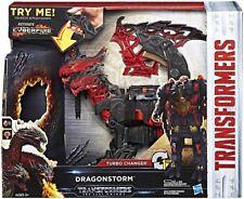 The Last Knight MEGA 1 Step Turbo Changer Dragonstorm Action Figure