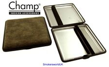 Cigarette Case -- Champ Canvas Natural 20 King Size -- NEW chks32