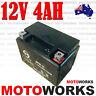 12V 4AH Battery 50cc 70cc 90cc 110cc 125cc 150cc ATV QUAD Bike Gokart Buggy Dirt