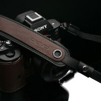 Gariz Brown Leather Neck Strap XS-CHLSNBR2 Sony Fuji Lumix Leica