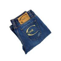 JUST CAVALLI Women's Sz 28 Bootcut Jeans Gold Back Pocket