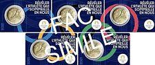 "5x 2 Euro FRANCIA 2021 "" OLIMPIADI "" COINCARD FRANCE BU - PREVENDITA PRESALE"