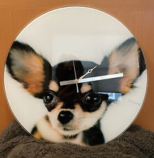 Crazy Dogs Wall Clock- By Karlsson- Chihuahua
