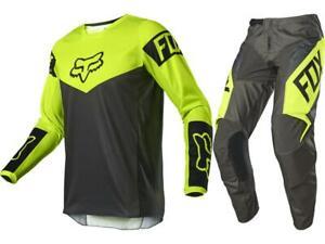 Fox Racing 180 Revn Jersey & Pant Combo Men's Motocross/MX/ATV Dirt Bike 2021