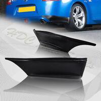 For 09-19 Nissan 370Z Rear Bumper Lip Aprons Spat SS-Style Polyurethane 2PCS