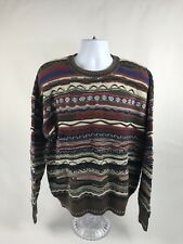 Men's VTG Florence Tricot Crewneck Sweater Size XL *Coogi-Biggie-Cosby*
