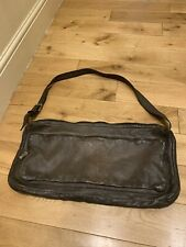 Numero 10 Leather Bag Handmade In italy Vintage Brown Finish