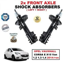 Amortiguadores delanteros Set Para Opel Corsa E x15 Furgoneta 1.2 1.3 1.4 2014-