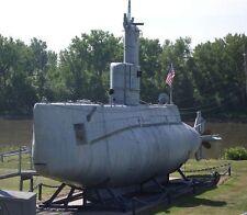 USS Marlin SST-2 Training Submarines Model Replica Large Free Shipping