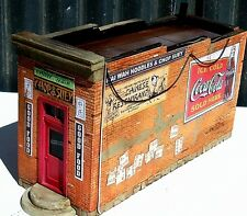 Downtown Deco O Scale Hydrocal Craftsman Chinese Restaurant kit + Bonus Signs
