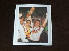 Uganda, Football World Cup m/s West Germany Winners 1990,  Sport,  MNH