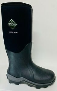 Muck Arctic Sport Tall Black Extreme Ice Fish Hunting Boots sz 7,8,9,10,11,12,13