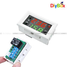 12V Digital Double LED Display Timing Delay Cycling Relay Module Switch