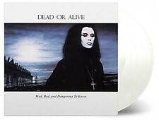 DEAD OR ALIVE - MAD BAD, AND DANGEROUS TO KNOW 180g White vinyl LP  Ltd   SEALED