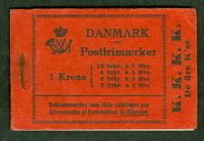 DENMARK #HRE8  1929 K.K.K.K BOOKLET, VF