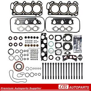 Fits 98-02 Honda Accord 3.0L 97-99 Acura CL SOHC MLS Head Gasket Set Bolts J30A1