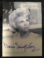 Doris Singleton A118 Secretary Twilight Zone autograph
