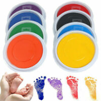 Baby Safe Large Non-Toxic Ink Pad Painting Fingerprint Stamp Handprint Footprint