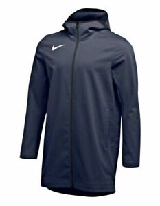 Mens Nike Team Parka Protect Shield Navy Jacket AJ6719-419 Size 4XL-Tall $140