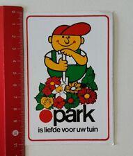 Aufkleber/Sticker: park is liefde voor uw tuin (230217124)