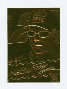 Jeff Gordon 1998 98 Gold Performance 22 Karat Gold Foil Embossed Card 22kt Rare