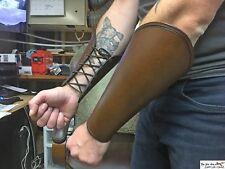 Viking leather bracer, multiple size available (6'' - 8'' - 11''), damage option