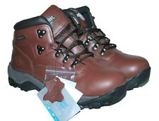 MENS WALKING HIKING LACE UP BOOT BROWN SIZE 7