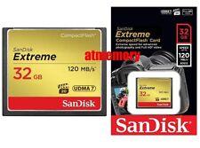 Sandisk Extreme 32GB 64GB 128GB Compact Flash Card CF 120MB/s 800x UDMA 7 Sydney