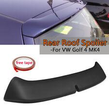 Black Car Rear Roof Spoiler Wing Lip ABS Plastic For VW Golf 4 MK4 1998-2004