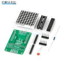 MAX7219 Red Dot Matrix Module MCU Control Display Module DIY Kit For Arduino