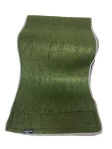 "Omari Hardwick Olive Green Lightweight Wide Slimmer Fitness Belt 40"" Long"