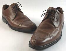 Men's Cole Haan Brown Leather Split-Toe NikeAir Dress Shoes  8.5 W(Wide)
