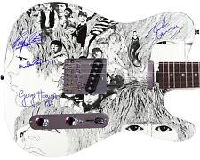 The Beatles Autographed Revolver Album LP Dvd Poster Photo Guitar