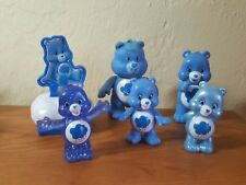 Kenner vintage Care Bears poseable blue Grumpy Bear cloud different sizes