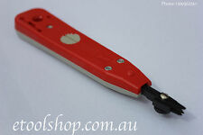 NBN/ ISGM, Red Exchange Punch Down Tool Loop a line, not a pit key
