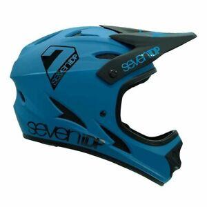 7iDP M1 Full Face BMX/Mountain Bike Helmet Adult XSmall Blue/Black