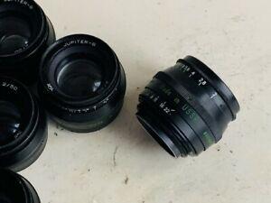 KMZ JUPITER 8  2/50 Russian M39. Lens Fed Leica Zorki