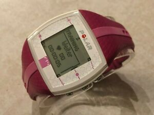 Polar FT4 Womens Heart Rate Monitor Fitness Watch Exercise Training Running Pink