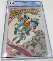 Aquaman #52 CGC 9.4 KEY Deadman story ends Adams CLASSIC Cardy cover 1970 DC