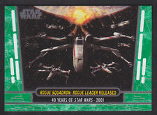 Topps Star Wars - 40th Anniversary - Green Parallel Card # 85