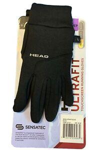 Head Men's Ultrafit Touchscreen Running  Gloves Black