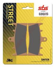 Kawasaki ZX6R G1 & G2  SBS Sintered Front Brake Pads 686HS 1 x Set (For 1 Disc)
