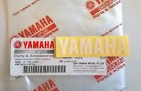 100% ORIGINALE YAMAHA 60 mm x 15mm PICCOLO BIANCO decalcomania logo stemma
