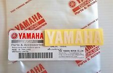 100% GENUINE YAMAHA 60mm x 15mm SMALL WHITE DECAL STICKER BADGE LOGO