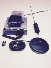 "CB Radio AM/FM Starter Kit Team TS-6M+ Mini Springer CB Antenna & 6 "" Mag Mount"