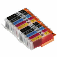 10 PK INK NON-OEM CANON PGI-250 XL CLI-251 XL MG7120 MG7520 IP8720 IP7220 MG5420