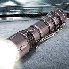 4000LM Mini Lampe De Poche T6 LED ZOOMABLE Étanche Torche Puissante 3 Modes