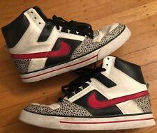 sports shoes 463c6 30e59 Nike Air Delta Force Cement 370424–161 Vtg Retro Hi Top 2009 Shoes Size 10.5