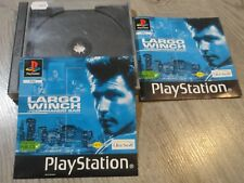 LARGO WINCH PLAYSTATION 1 PS1 PSONE BOITE VIDE BOX ONLY NO GAMES